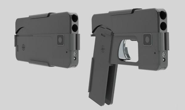 سلاح على شكل هاتف آيفون يثير المخاوف الأمنية