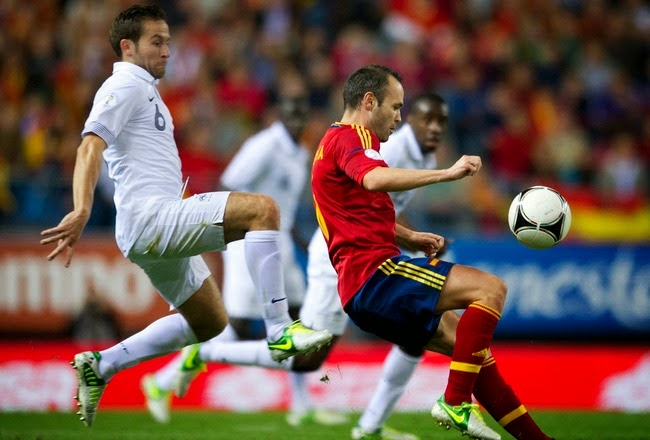Watch France vs Spain 4 September 2014 friendly today