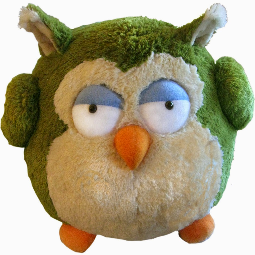 "Squishable 15"" Giant Round Owl"