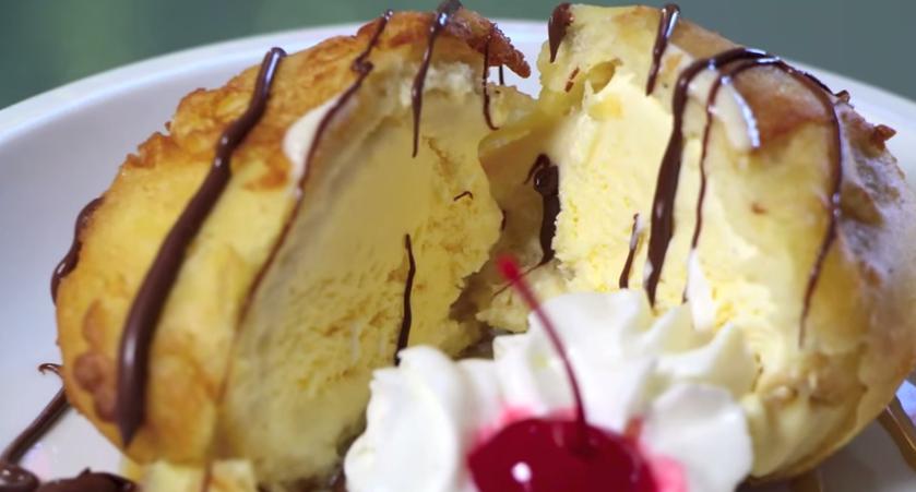 Cara Membuat Es Krim Goreng Sederhana