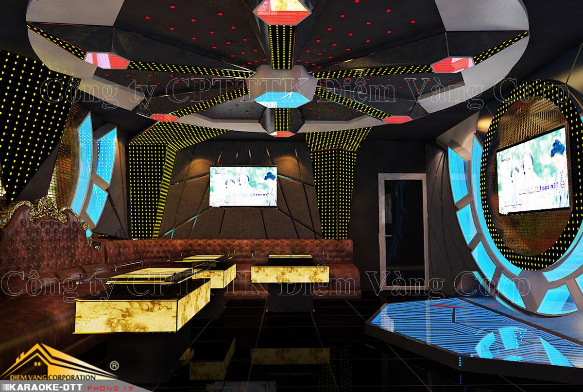 Thiết kế phòng karaoke 3D Ảnh Full chất lượng cao 54