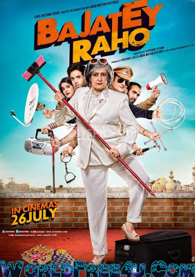 Poster Of Hindi Movie Bajatey Raho (2013) Free Download Full New Hindi Movie Watch Online At worldfree4u.com