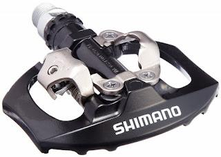 Pedale da bici Shimano E-PD-A530L SPD