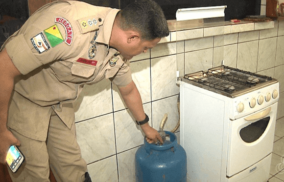 instruções como cuidar botijão a gás