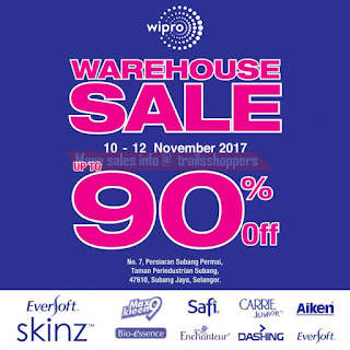 WIPRO UNZA Warehouse Sale 2017
