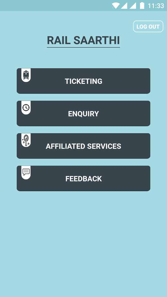 New Integrated Mobile App by Indian Railway : Rail SAARTHI