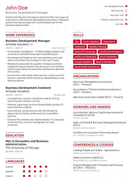 How To Create a Professional Resume? 8