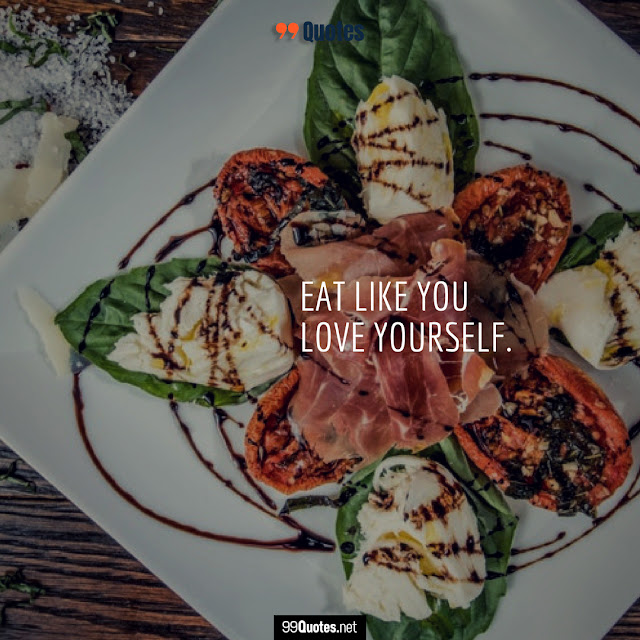 love food quote