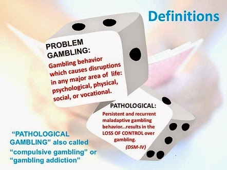 Gambling Addiction - The Road of Recovery: Definition of ...