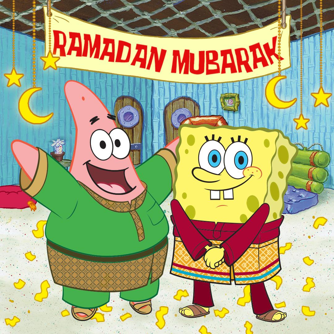 NickALive Muslims Applaud SpongeBob SquarePants For