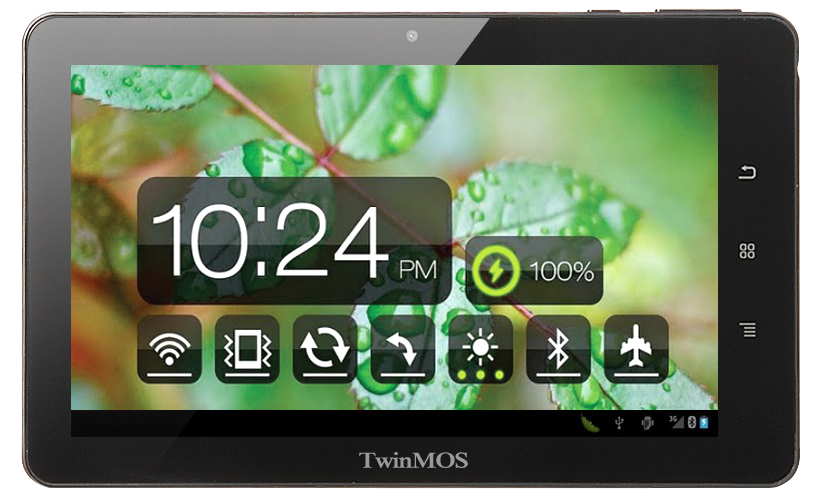 TwinTAB the Tablet Powered by TwinMOS: TwinTAB- T7283G