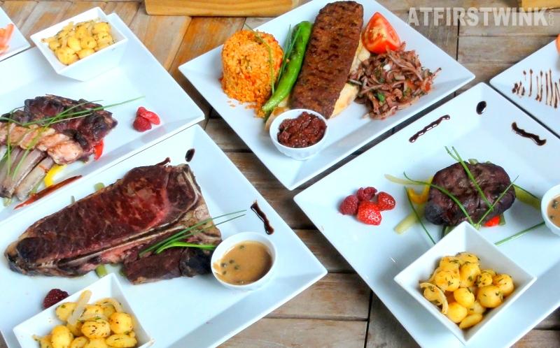bone rib steak  lamb chops
