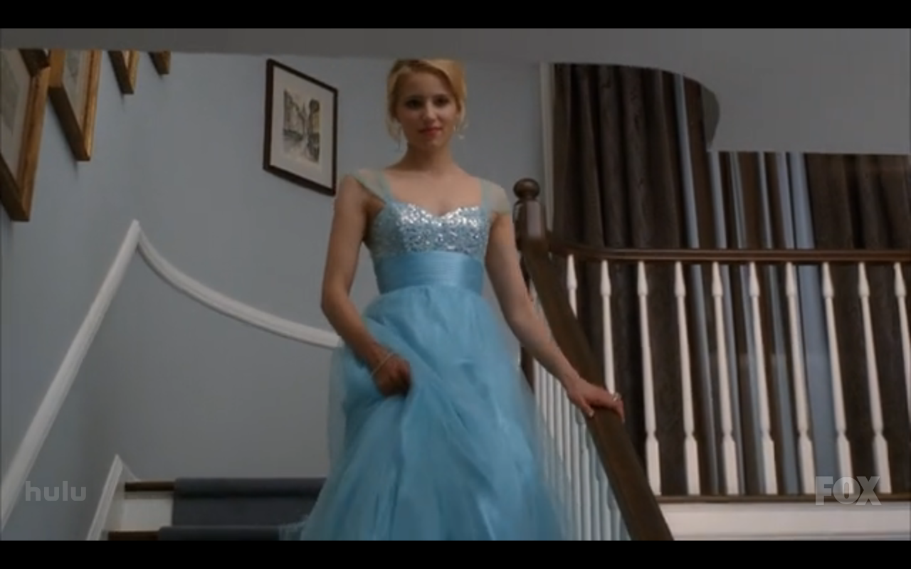 The Everything Girl Glee Fashion Prom Queen Quinn