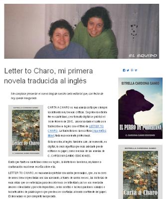 http://www.ccgediciones.com/blog/2016/09/30/letter-to-charo-mi-primera-novela-traducida-al-ingles/