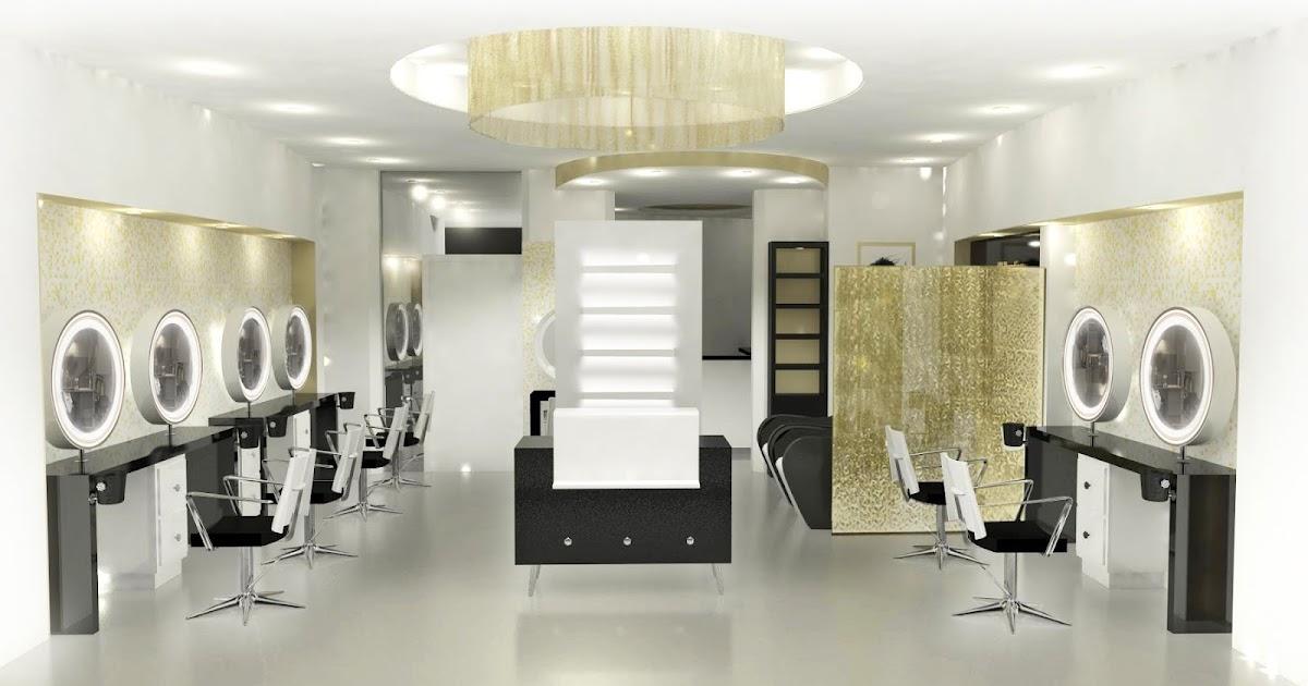 H l ne serey am nagements salons de coiffure haut de gamme for Salon de coiffure paris 8