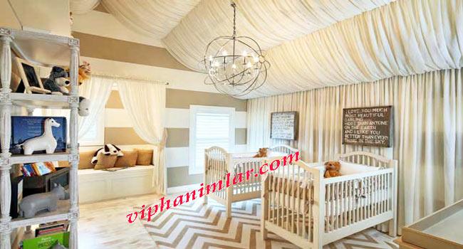 İkiz Bebek Odası Tasarımı
