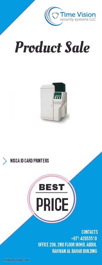 Nisca id card printers in dubai