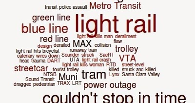 RIP Gateway Corridor: Light Rail Accidents, Crashes, & Deaths