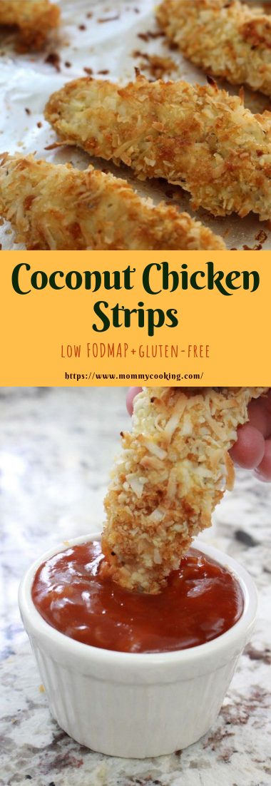 Coconut Chicken Strips #simplemeals #easyandhealthy