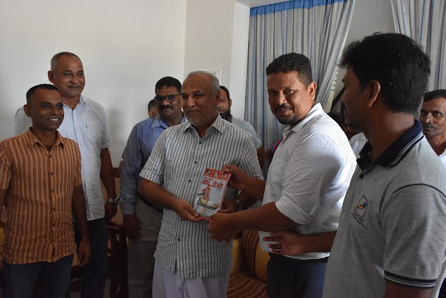 East Times Tamil Magazine welcomed by Minister Hakeem