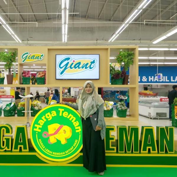 HARGA TEMAN Giant Manjakan Pelanggan Belanja Dengan Harga Lebih Murah dan Stabil