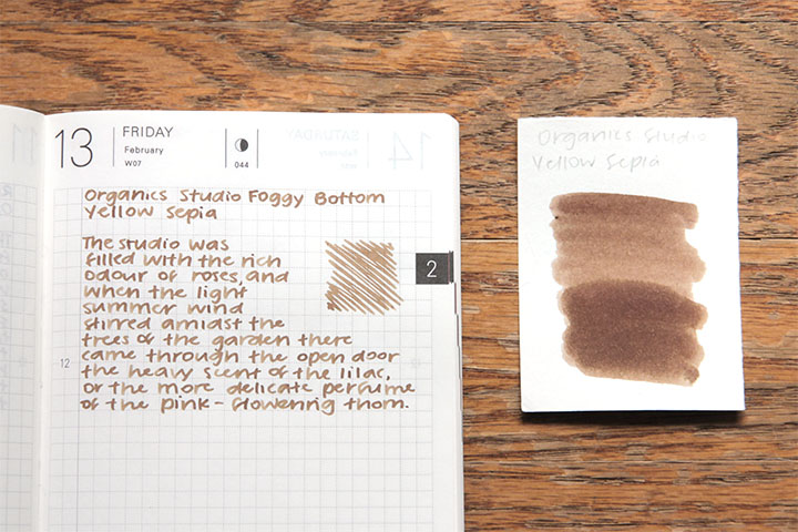 review: organics studio masters of writing foggy bottom yellow sepia