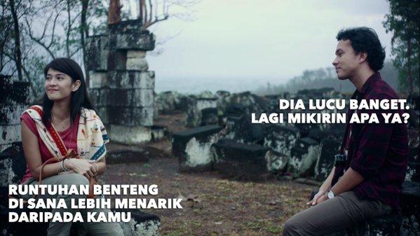 Meme Cinta dan Rangga di Film AADC2