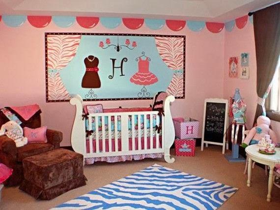 dicas de quartos de bebê fashion