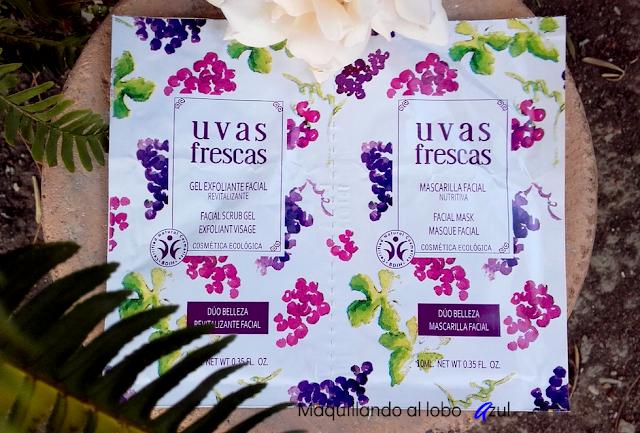 Dúo Belleza (mascarilla y exfoliante) de Uvas Frescas