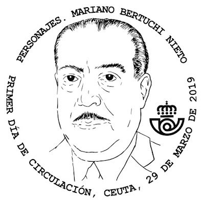Filatelia - Mariano Bertuchi Nieto - 29 03 2019 - Matasellos Primer Día