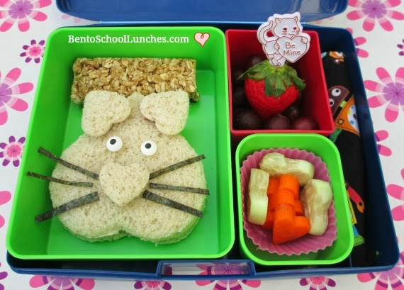 valentines lunch, you're purr-fect,bento school lunches