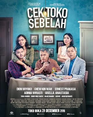 Film cek Toko Sebelah (2016) Terbaru full Movie