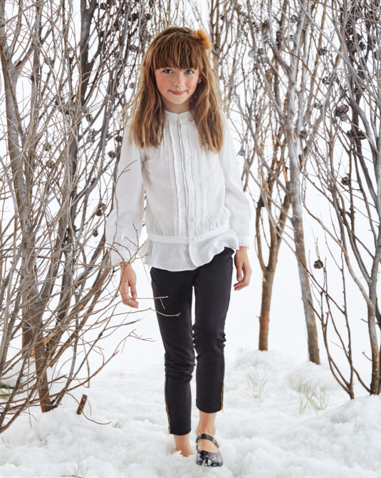 Blusas de nenas invierno 2017.