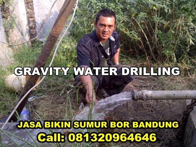 Jasa Bikin Sumur Bor Di Bandung Terbaik GRAVITY WATER DRILLING