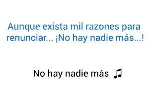 Sebastián Yatra No hay nadie más significado de la canción.