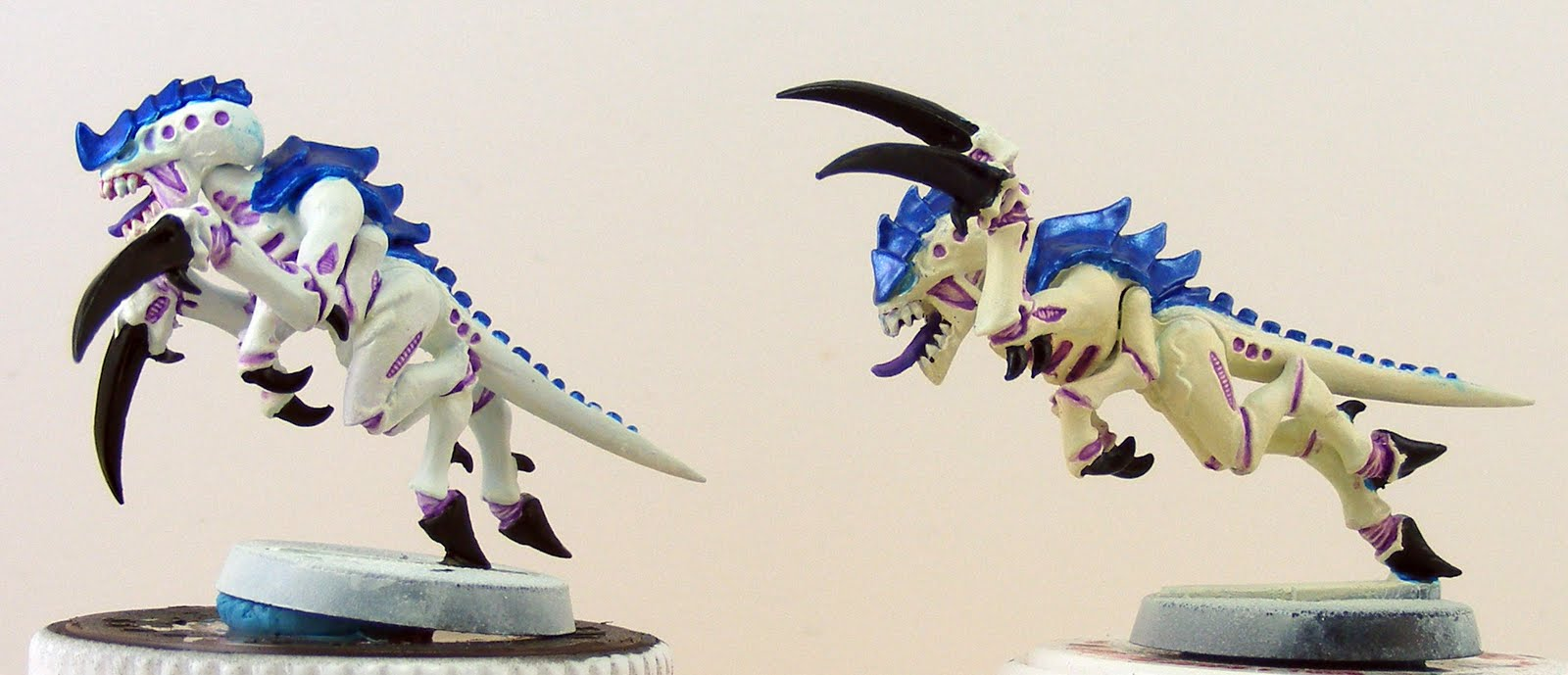 Maximum Heresy: Tyranid painting: test models completed