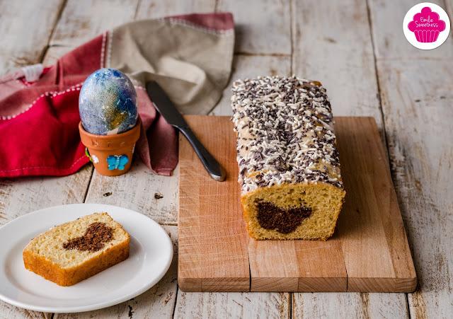 Gâteau surprise papillon chocolat et yaourt