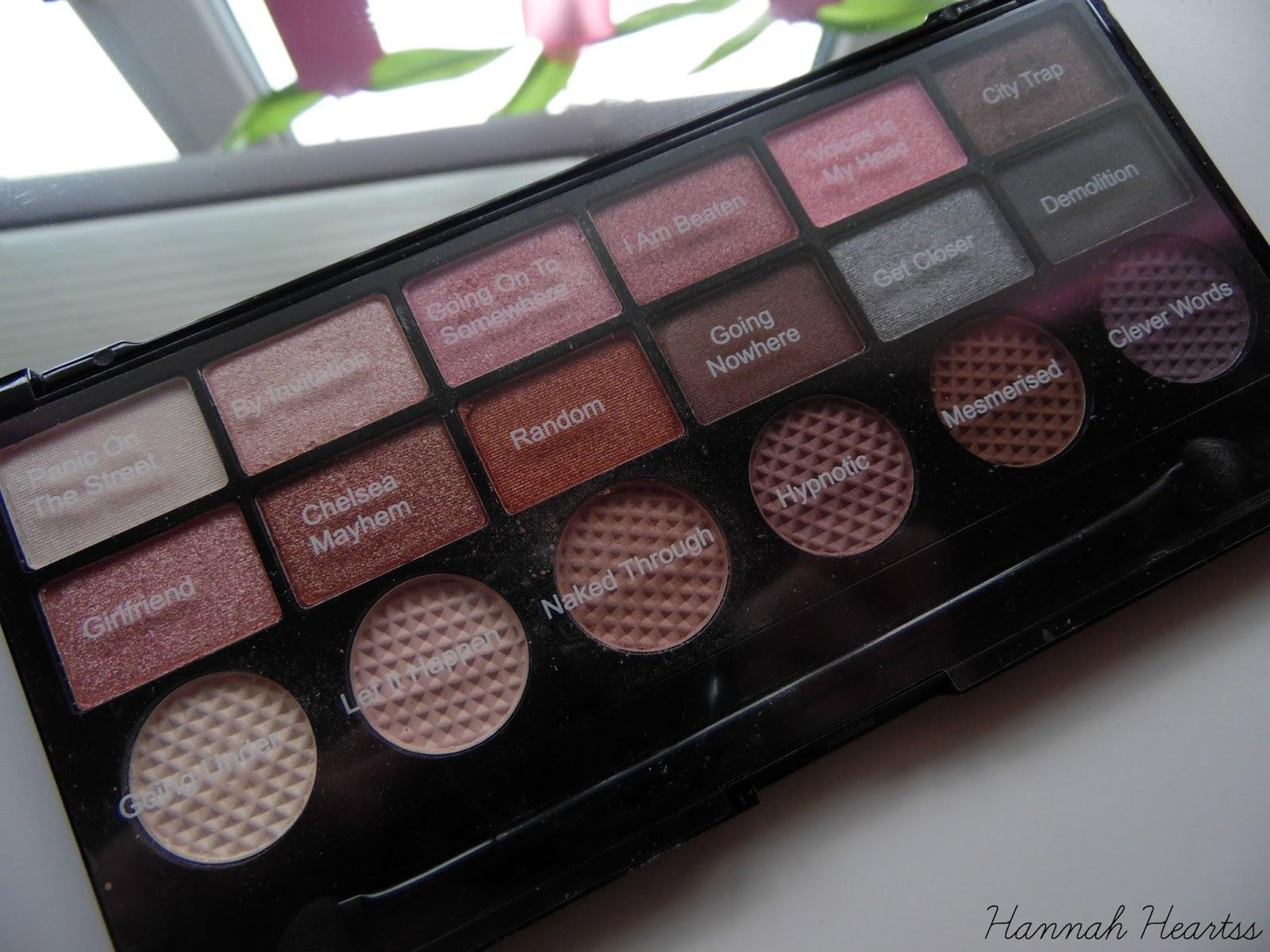 Makeup Revolution Girl Panic Palette