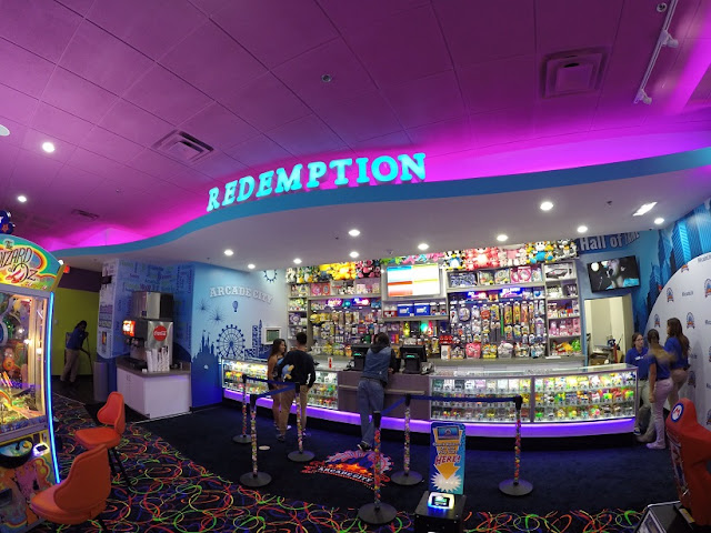 Arcade City no Icon Orlando 360 - compras
