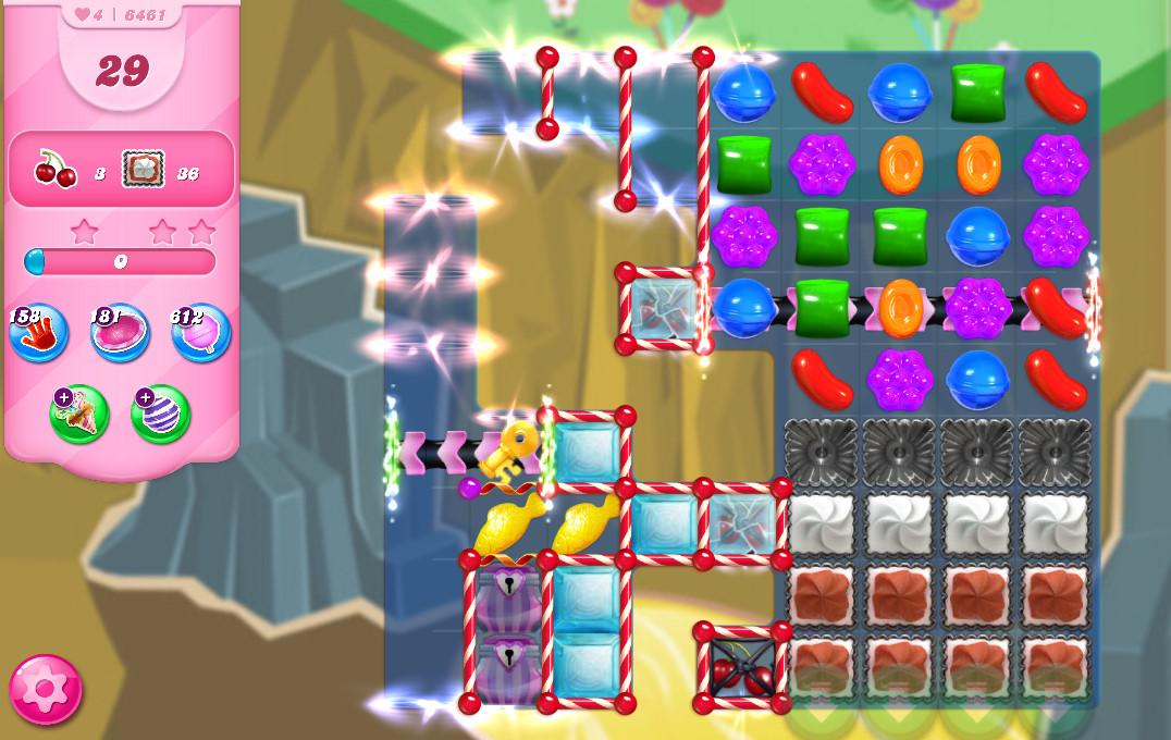 Candy Crush Saga level 6461