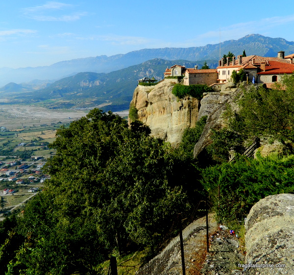 Mosteiro de Agios Stephanous (Santo Estêvão), em Meteora