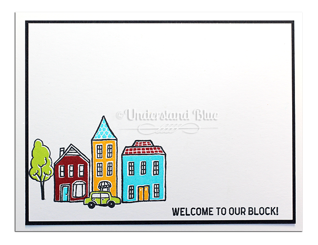 In the City Stamp set by UnderstandBlue