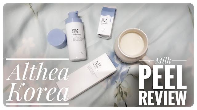 althea milk peel review pisceanrat