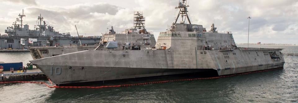 Обидва типи прибережних кораблів США матимуть єдиний мозок