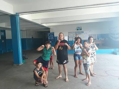 Escola Yolanda realiza Agita Família e Caminhada de Outono
