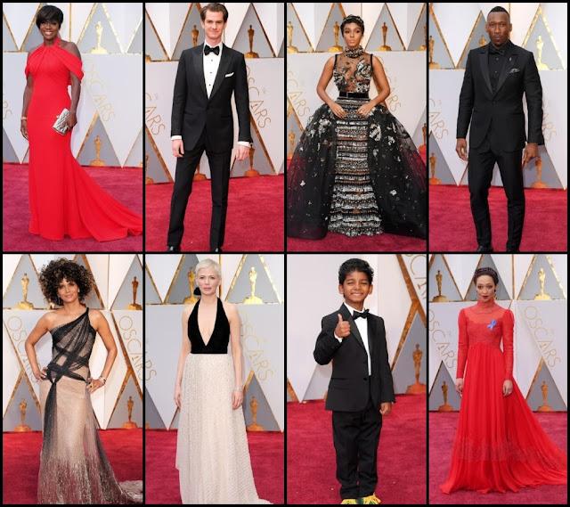 La Alfombra Roja de los Oscars 2017
