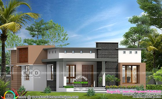 Single floor house design by Smart Plan Engineers & Architects