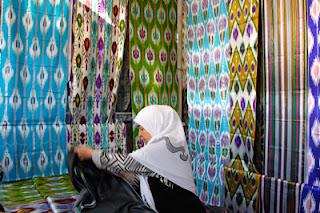 ferghana valley art textiles, uzbekistan tours