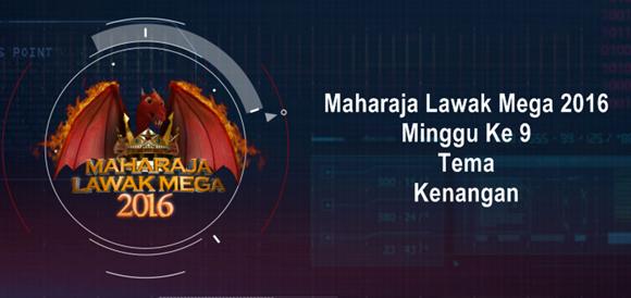Maharaja Lawak Mega 2016 Minggu 9