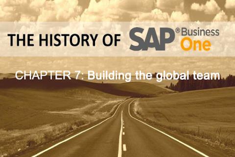 Lịch sử SAP Business One (Phần 7): Xây dựng đội ngũ toàn cầu
